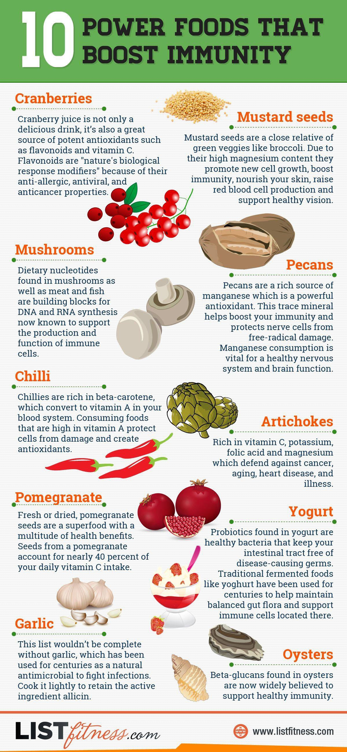 10 Power Foods That Boost Immunity Pictures Photos And