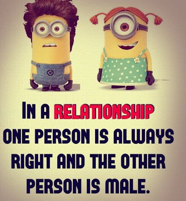 Love Quotes For Him Minions : Minion Relationship Quotes. QuotesGram