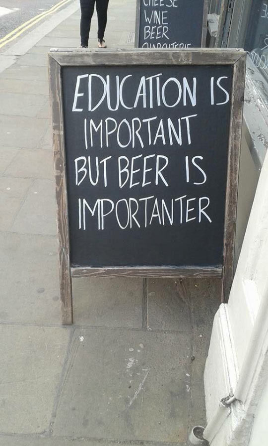 Beer Is Importanter Pictures Photos And Images For