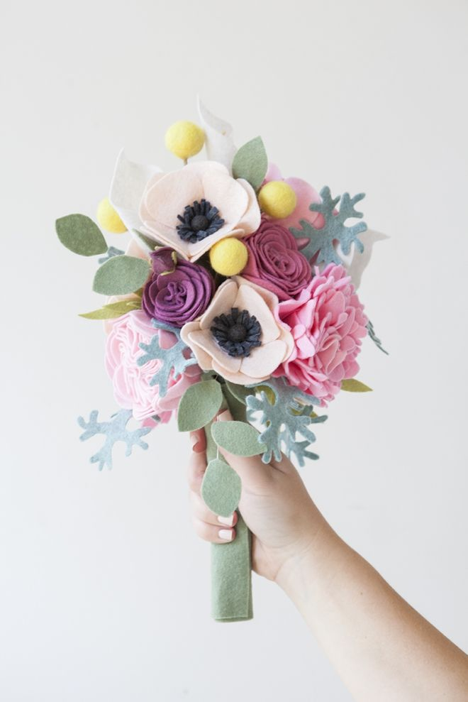 Felt Flower Wedding Bouquet Pictures, Photos, and Images for ...