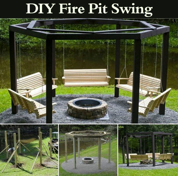 Diy Fire Pit Swing Pictures Photos And Images For