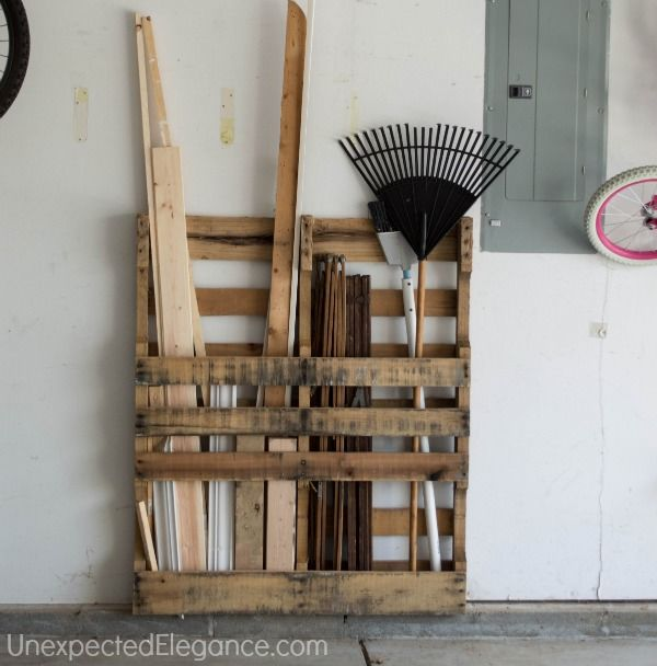 Pallet Garage Storage Pictures Photos And Images For