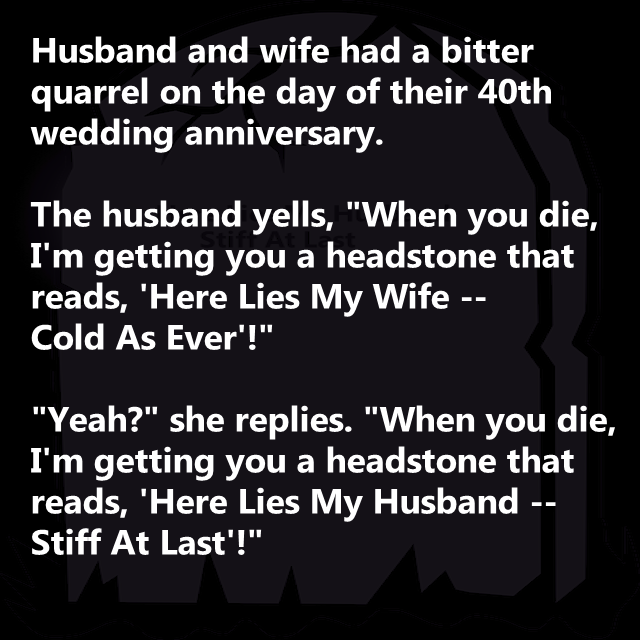 Quotes For Husband And Wife Quarrels: Wife's Witty Comeback... Pictures, Photos, And Images For