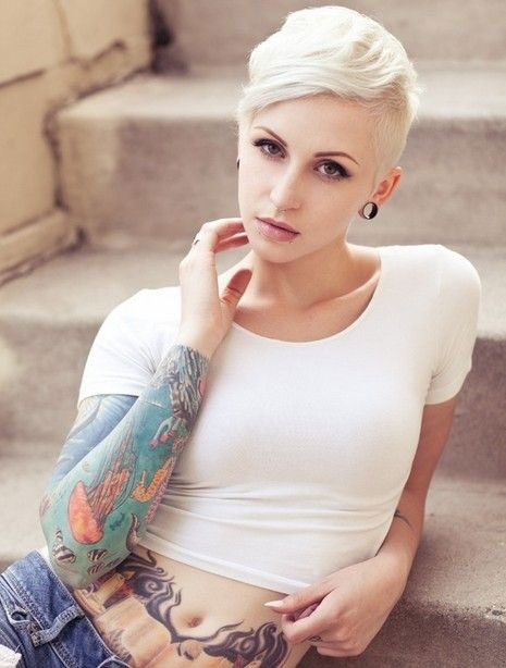 Stupendous Short Blonde Pixie Hair Pictures Photos And Images For Facebook Hairstyles For Men Maxibearus