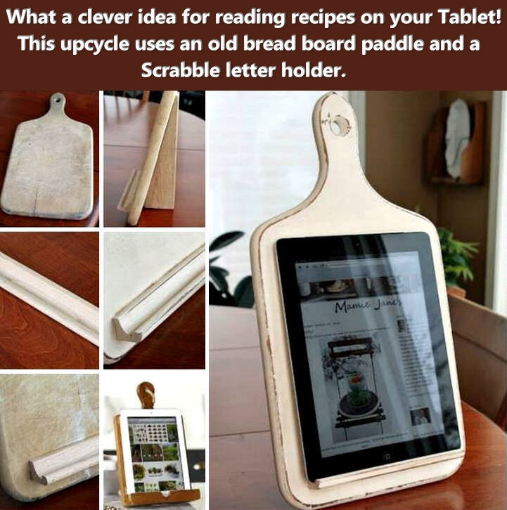 diy kitchen tablet holder pictures, photos, and images for