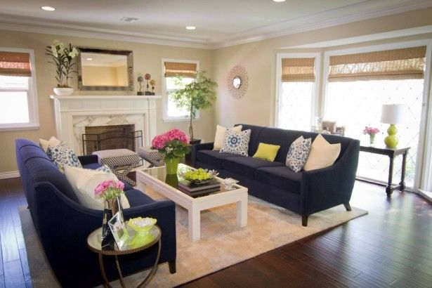 Cool Carpet Design For Elegant Family Room Decorating Ideas