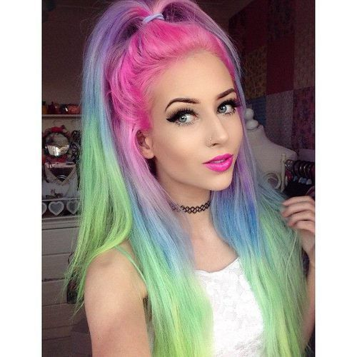 Colorful Hair Pictures, Photos, And Images For Facebook