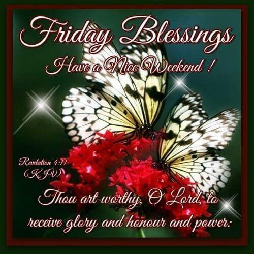 Friday Christmas Quotes: Friday Blessings Have A Nice Weekend Pictures, Photos, And