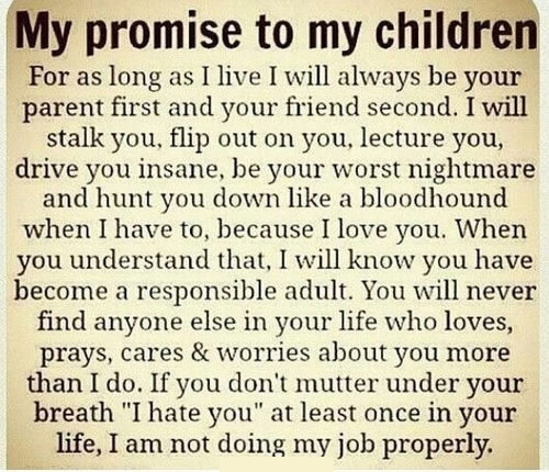 My Promise To My Children Pictures, Photos, and Images for ...