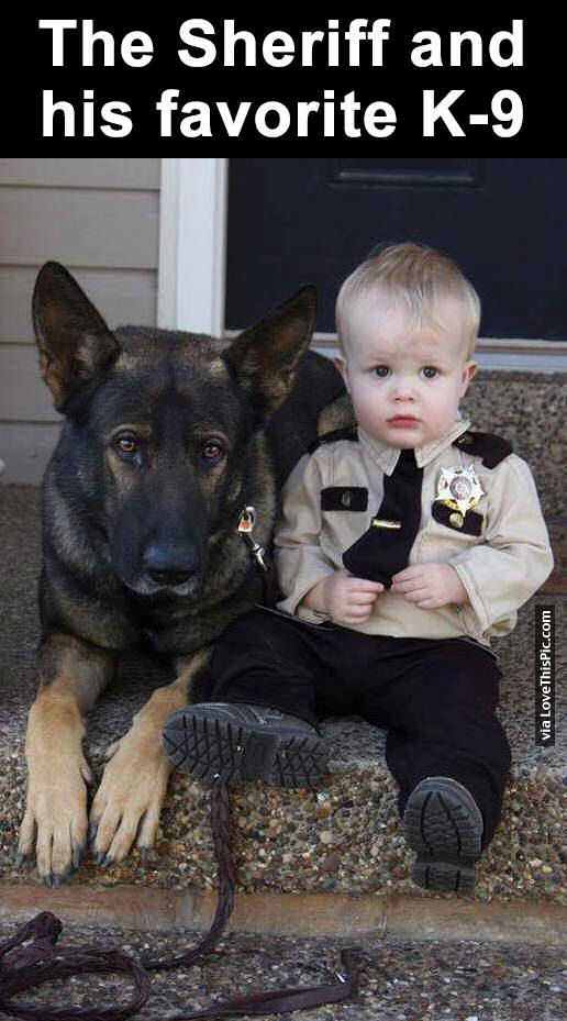 The Sheriff And His Favorite K-9 Pictures, Photos, and ...
