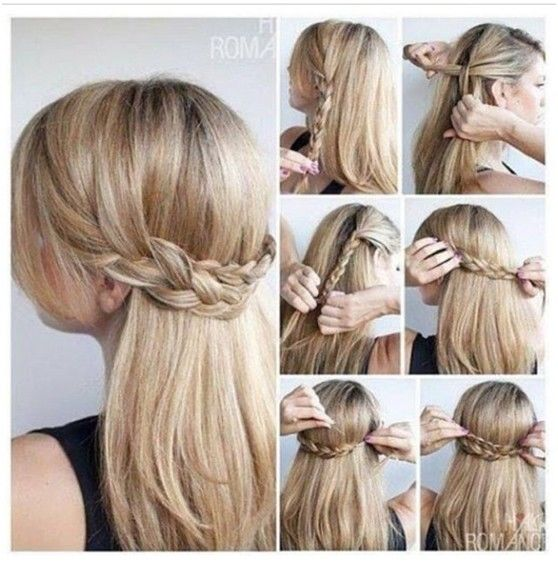 Easy Hair Braid Tutorial Pictures Photos And Images For Facebook - Braid diy pinterest