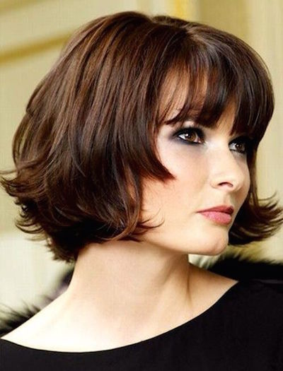 Bob Haircut With Blunt Bangs Pictures Photos And Images