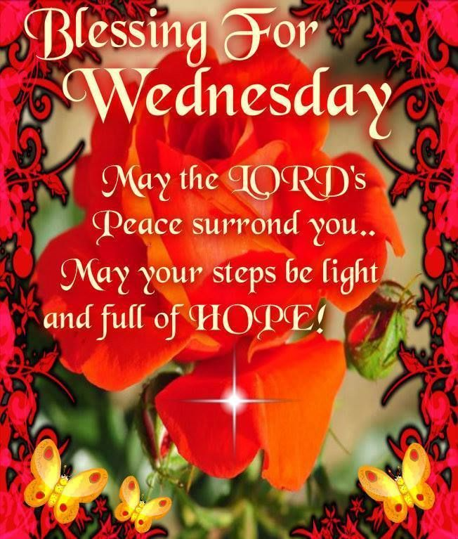 Good Morning Everyone Poem : Blessings for wednesday pictures photos and images