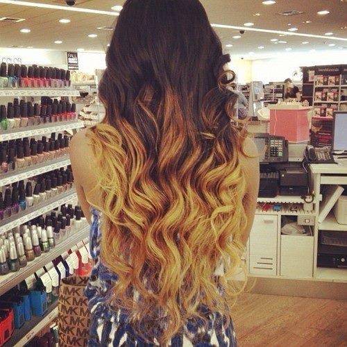 Brown To Blonde Hair Tumblr