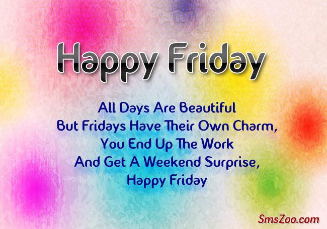 Happy Friday Sayings Facebook