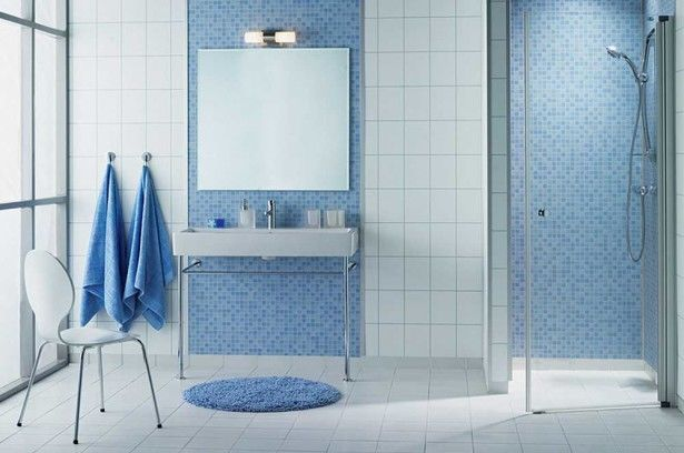 Latest bathroom wall tiles design trends ideas pictures photos and images for facebook tumblr - Gresites para banos ...