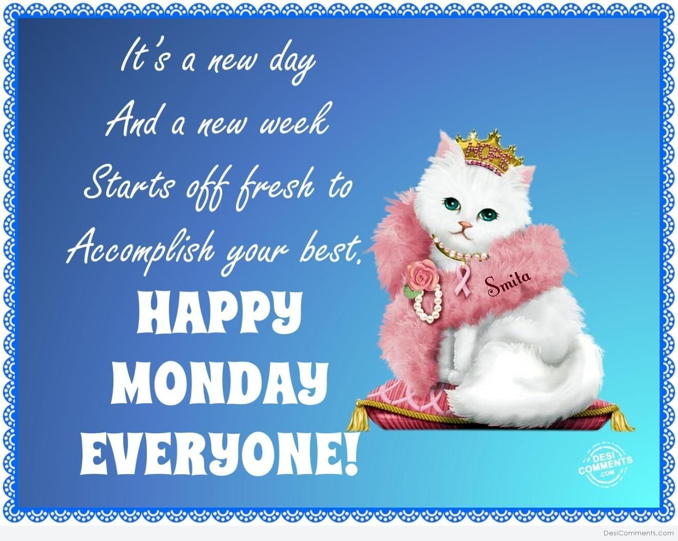 Happy Monday Everyone Pictures Photos And Images For Facebook