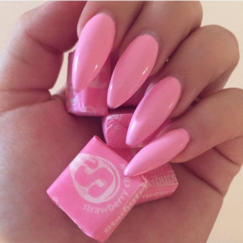 Starburst pink stiletto nails pictures photos and images for starburst pink stiletto nails solutioingenieria Image collections