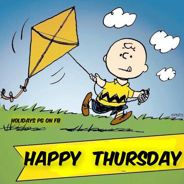 Charlie Brown Happy Thursday Quote Pictures, Photos, and ...