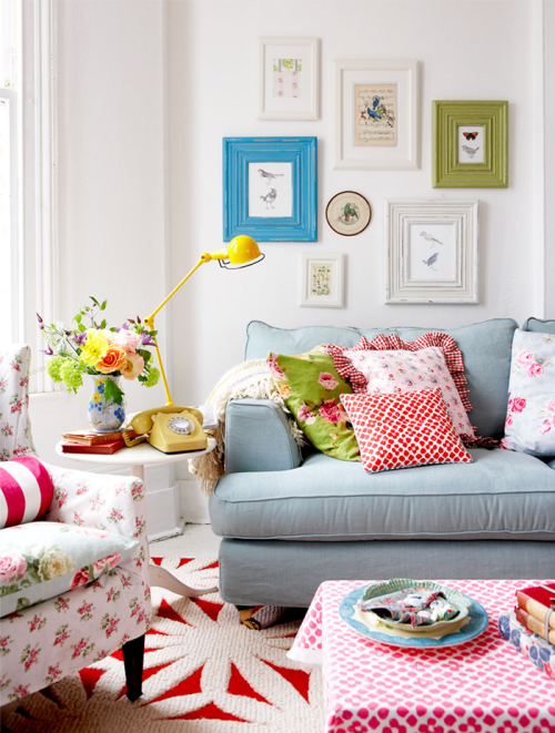 colorful living room - Colorful Living Room