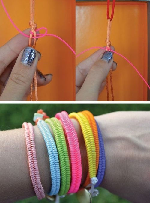 quick diy braceletes pictures photos and images for facebook