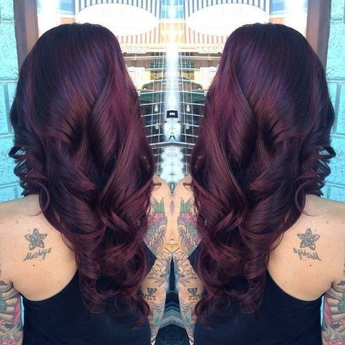 dark cherry red hair Quotes