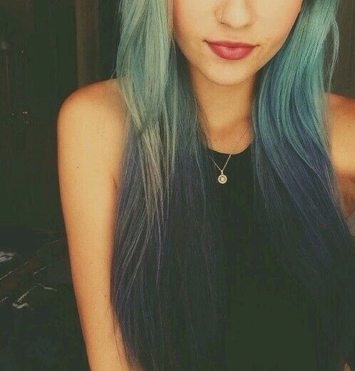 Teal Blue Ombre Hair Pictures Photos And Images For Facebook