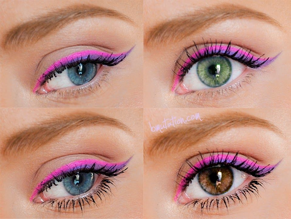 pink and purple eye makeup pictures photos and images