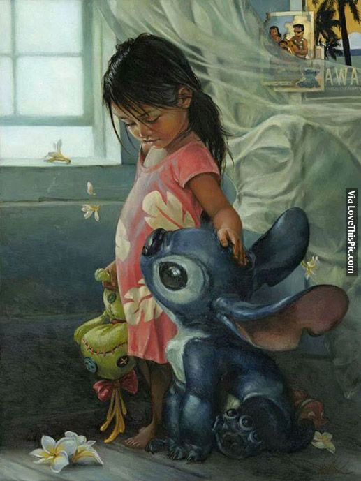 Artistic Drawing Of Lilo And Stitch Pictures Photos And Images For Facebook Tumblr Pinterest And Twitter