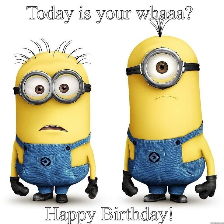 25 Funny Minions Happy Birthday Quotes: Minion Happy Birthday Quote Pictures, Photos, And Images