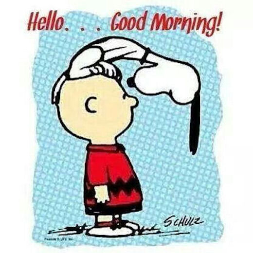 Good Morning Snoopy Quotes : Snoopy hello good morning pictures photos and images for