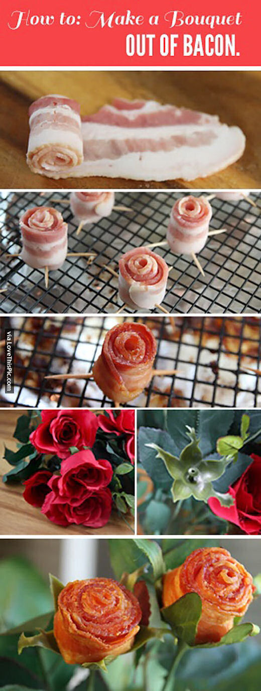 How To Make Bacon Roses Pictures, Photos, and Images for ...