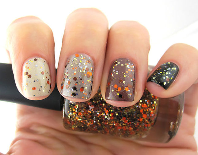 Ombre Glitter Fall Nails Pictures Photos And Images For Facebook
