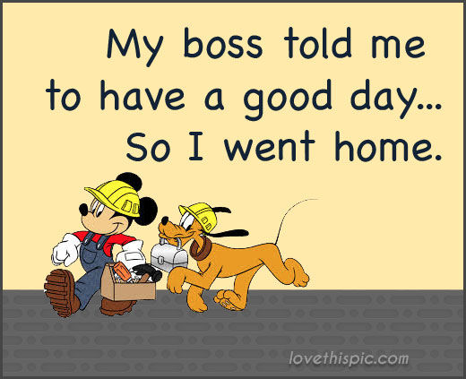 Funny Work Quotes About The Boss