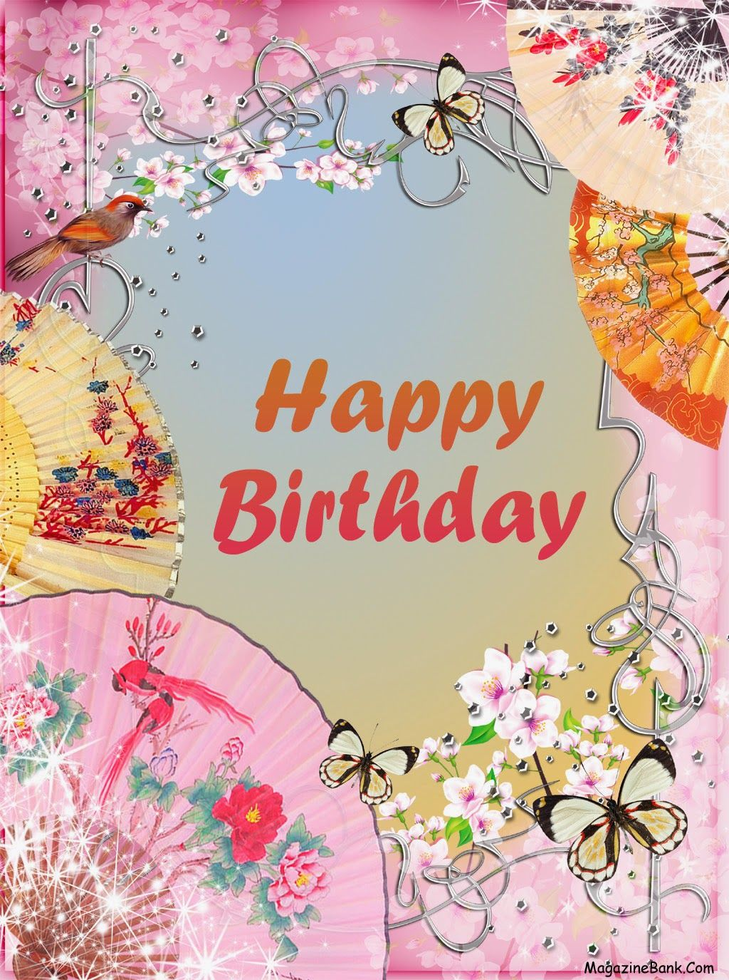 Pretty Birthday Cards gangcraftnet – Beautiful Happy Birthday Cards