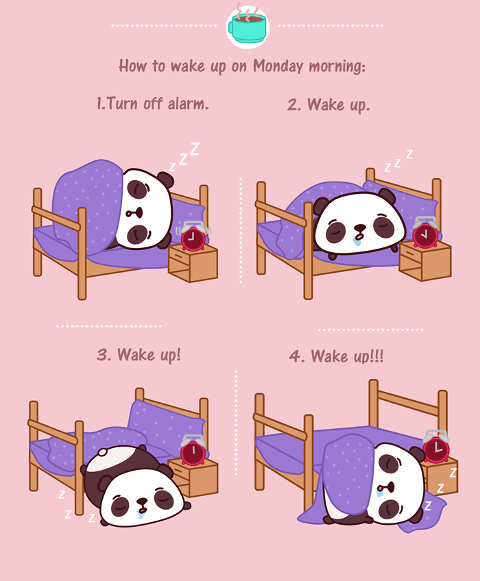How To Wake Up On Monday Morning... Pictures, Photos, and ...
