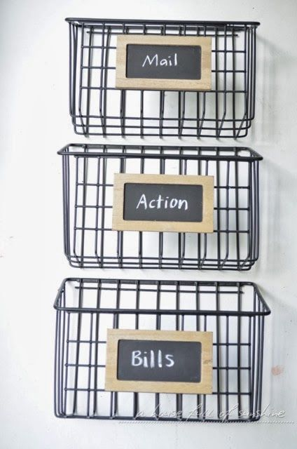 industrial wire mail baskets pictures photos and images for facebook tumblr pinterest and. Black Bedroom Furniture Sets. Home Design Ideas