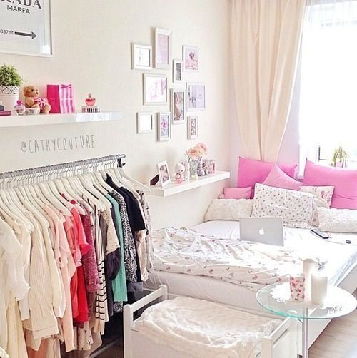 pink perfect bedroom for girls