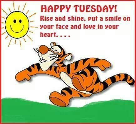 Tigger Happy Tuesday Pictures, Photos, and Images for ...