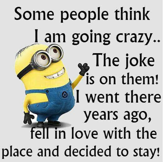 Funny I Think I Love You Quotes : Some People Think I Am Gong Crazy Pictures, Photos, and Images for ...