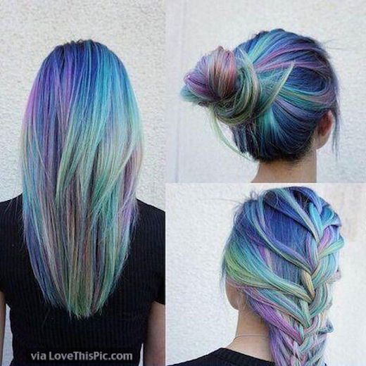 Rainbow Hairstyles Pictures Photos And Images For