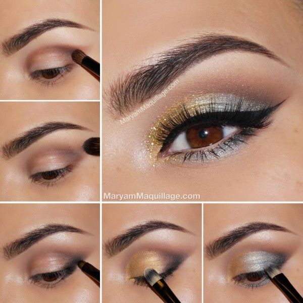 Silver And Gold Eye Makeup Pictures Photos And Images For Facebook