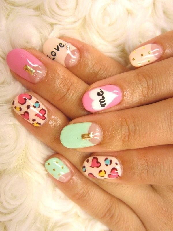 Pretty Pastel Fingernails Pictures Photos And Images For Facebook
