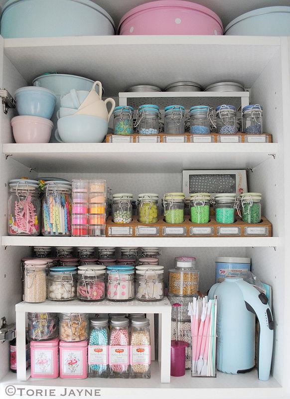 Wonderful Organized Cupboard