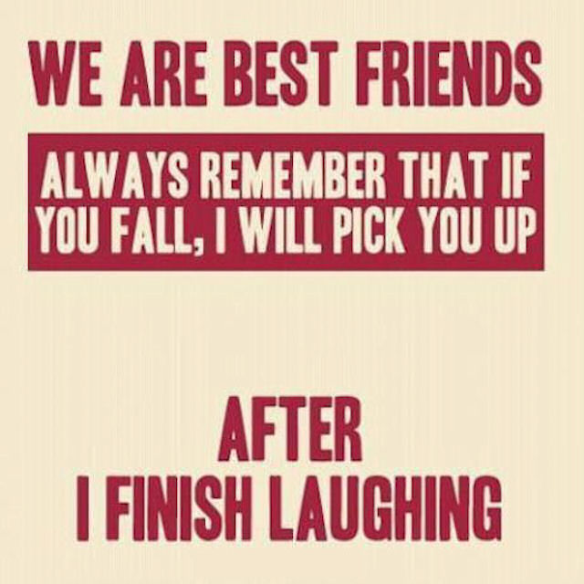 Funny Best Friends Quote