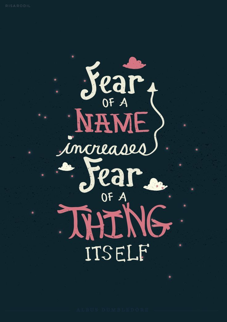 Harry Potter Quotes Tumblr: Fear Of A Name Increases Fear Of A Thing Itself Pictures
