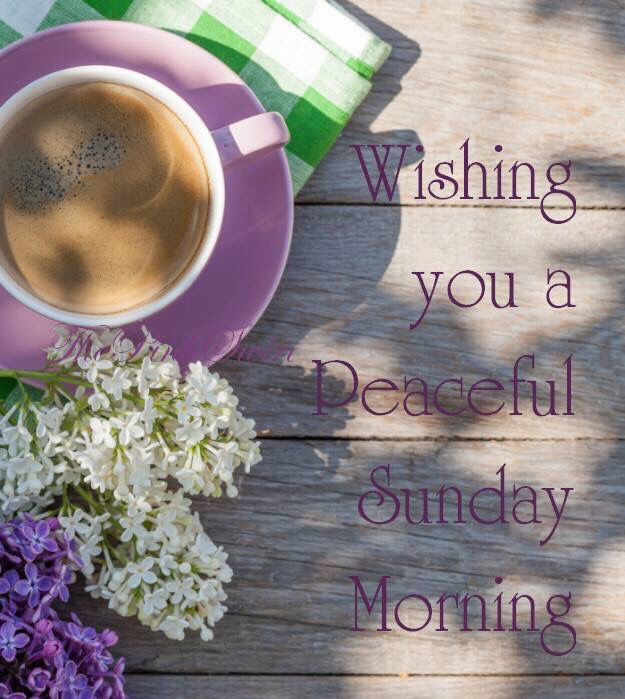 Image result for peaceful sunday morning