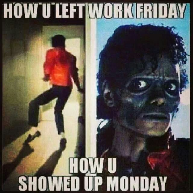 Good Morning Zombie Meme : Friday at work meme pictures to pin on pinterest daddy