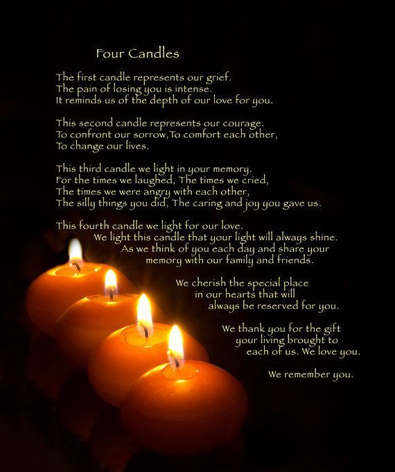 four candles pictures  photos  and images for facebook