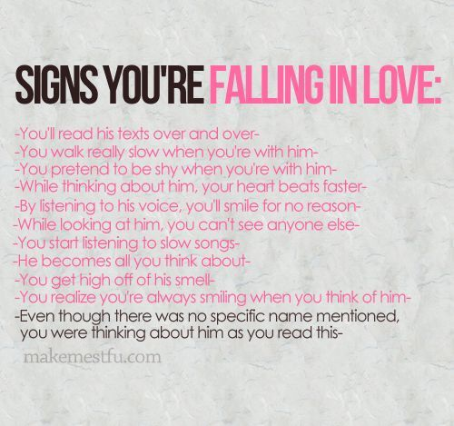 Signs Quotes Fascinating Signs Your Falling In Love Pictures Photos And Images For